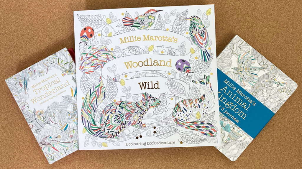 Millie Marotta Wild About Woodlands colouring in competition prizes